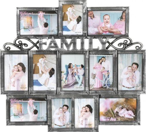 Семейная фоторамка на 12 фото (51 x 56 см)