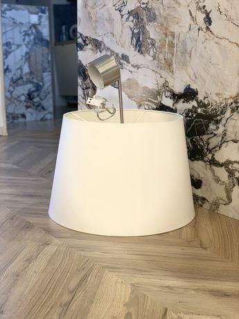 Lampa sufitowa 2szt, nordic, duży klosz, kremowa