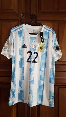 Envio grátis - Argentina #22 L. Martinez - Copa America - Final
