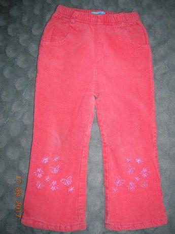 Spodnie zimowe dziewczęce