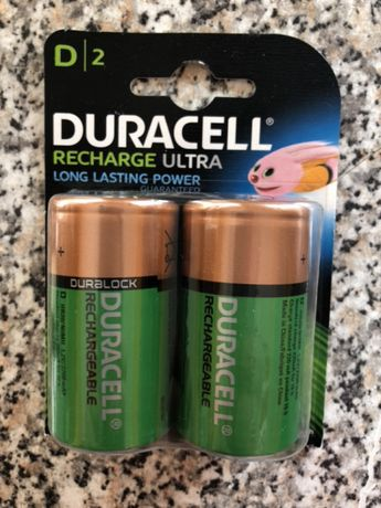 Duracell Rechargeable D- pack 2