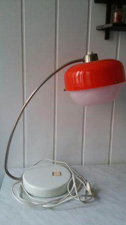 PRL Stara lampka , lampa stołowa
