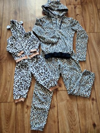 Домашние костюмы для мамы и дочки