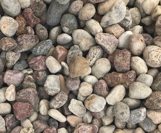 Otoczak Rzeczny Żwir 8-16mm, 16-32mm Kamień Ogrodowy 1000kg Worki Tona