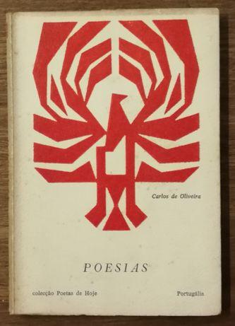 poesias, carlos de oliveira, colecção poetas de hoje