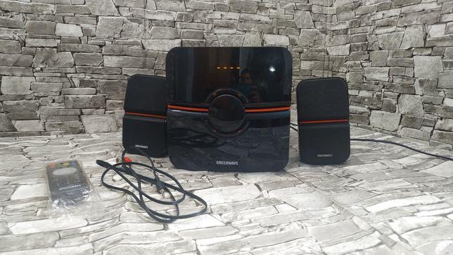 Акустика/Колонки Greenwave SA-375BT/49Вт/USB, Bluetooth