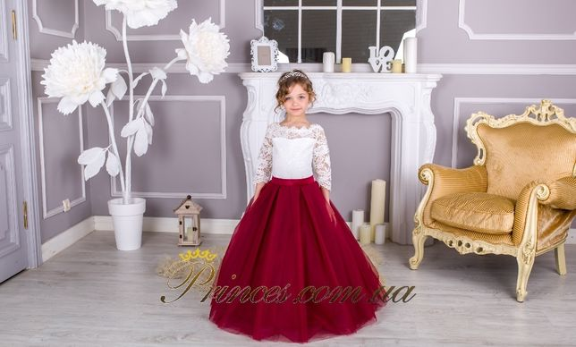 Нарядное бальное детское платье Мелиса от производителя, дропшиппинг.