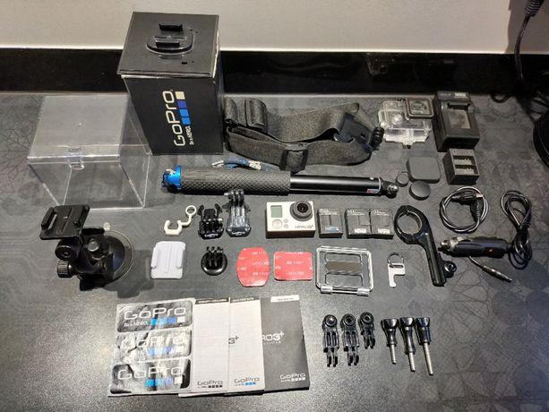 Kamerka sportowa GoPro HERO 3 + Black, pilot, 64GB, baterie, akcesoria