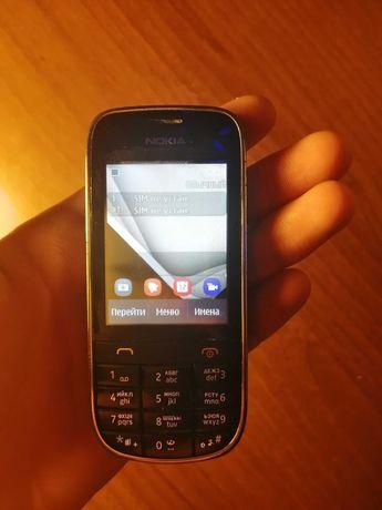 Сенсорный телефон Nokia Asha 202 Black