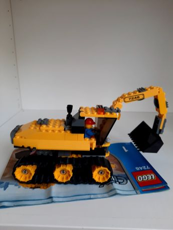 Lego 7248 retroescavadora