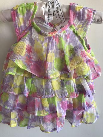 Комплект блуза, легінси для дівч літній 0-3 міс, США First Impressions