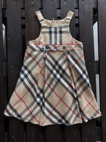 Ефектне плаття-сарафан, burberry оригинал