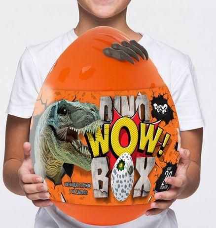 Яйцо Динозавра Danko Toys Dino WOW Box 30 см 15 сюрпризов, 35 см. 20 с