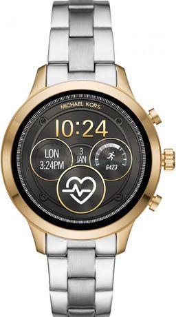 Michael Kors Access Runway smartwatch złoty srebrny