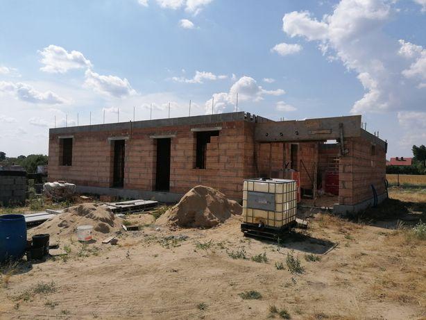 Dom w trakcie budowy Gniezno okolice