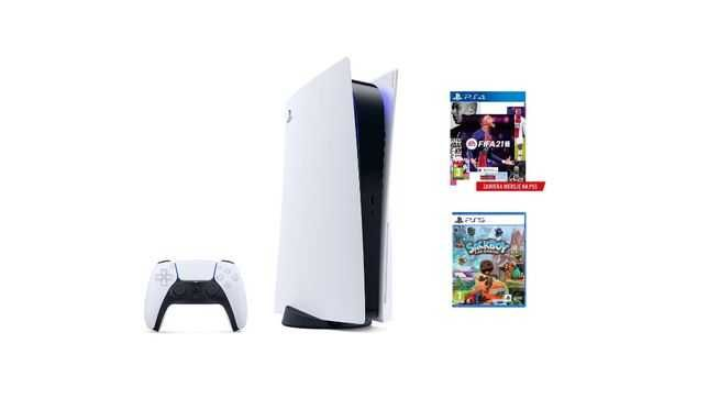 PlayStation 5 plus gry