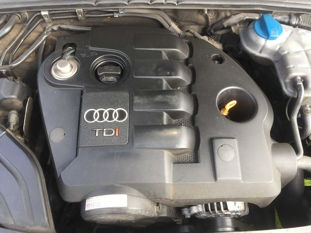 Silnik 1.9TDI AWX 130KM słupek z pompowtryskami Audi A4 A6 Passat B5