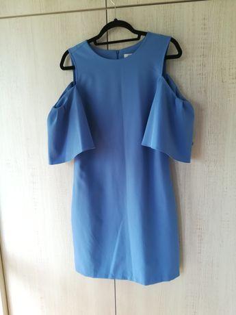 Sukienka niebieska Reserved 38