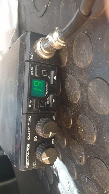 Cb radio Sunker elite Two plus antena Midland