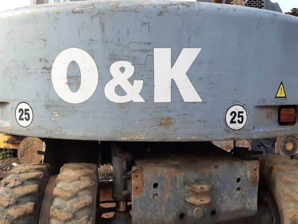 Koparka kołowa O&K MH CITY, części, podzespoły, 2000 rok