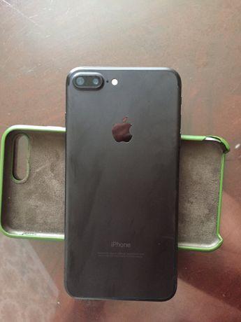 Iphone 7+ plus 32gb Matte Black Neverlok