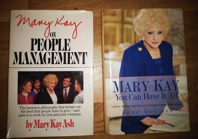 MARY KAY książki AUTOGRAF! autorki, w języku angielskim