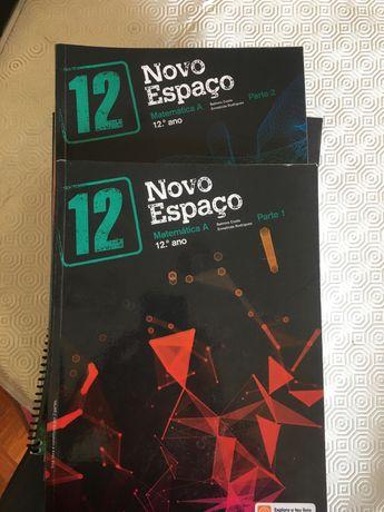 Novo Espaço Matemática A 12 Manual