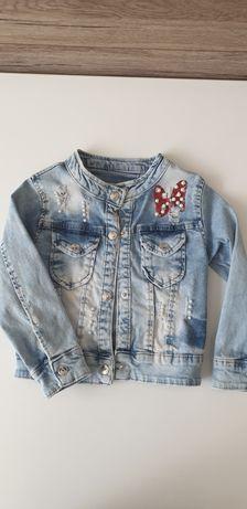 Kurtka Jeans roz.98 dla dziewczynki