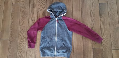 Boys Authentic rozpinana bluza z kapturem 10/11 lat