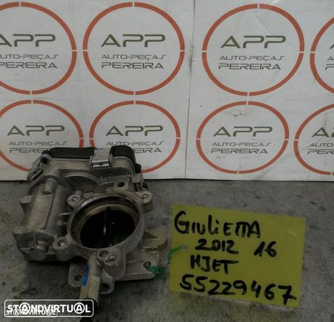 Borboleta de admissão Alfa Romeo Giulietta de 2012 1.6 MJET. Ref 55229467.