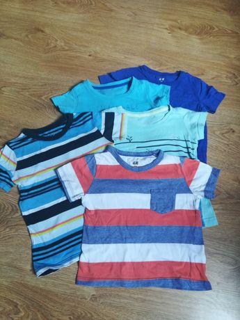 Bluzeczki, koszulki, rozmiar 92, 5 szt