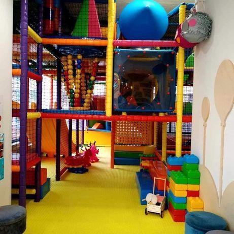 Sala zabaw Małpi Gaj 3 poziomy używany 1,5roku.Stan idealny jak nowy.