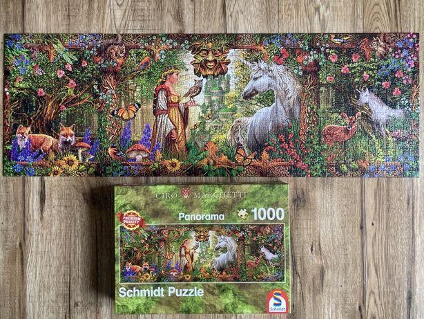Puzzle Schmidt 1000 elementów panorama