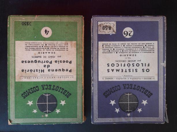 Livros coleção Biblioteca Cosmos