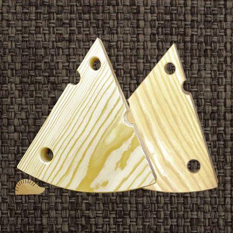 Сырная доска, деревянная заготовка, кусочек сыра