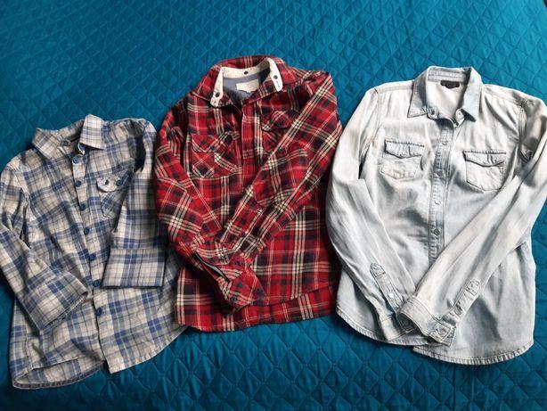 Zimowe damskie koszule M