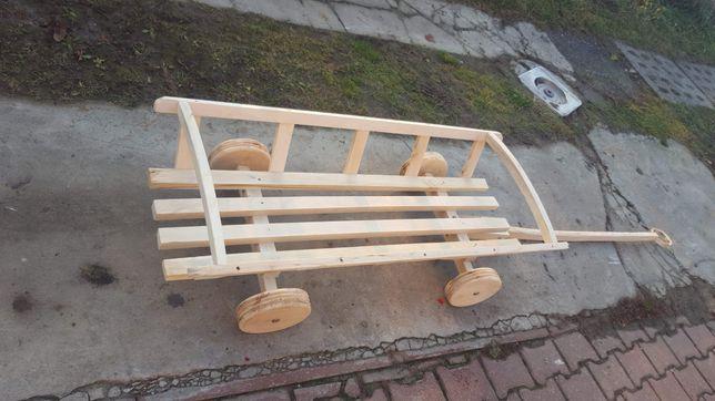 Drewniany wóz