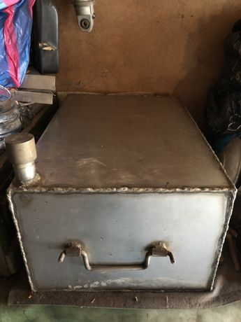 Бак для жидкостей нержавейка 360х250х500мм грабли, тяпки, лопаты, коса