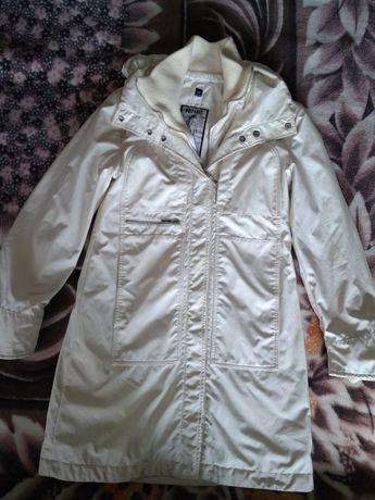 Белый плащ пальто куртка POST CARD Румыния 44-46 р-р S