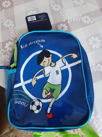 Plecak dla przedszkolaka nowy z metką