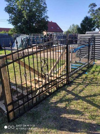 Brama wjazdowa ogrodzeniowa przesuwna