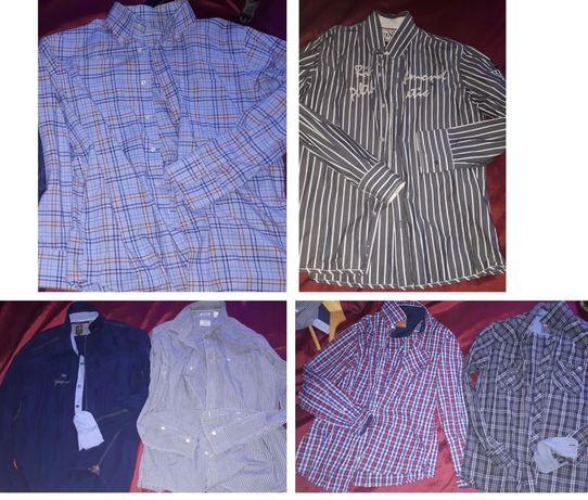 Фирменная рубашка сорочка тенниска шведка пакет вещей одежды  50 52 р