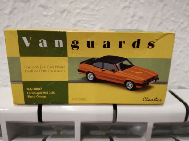 VANGUARDS Classics-Ford Capri Mk3 3.0S Orange-Ed. Ltd. 1600 Exemplares