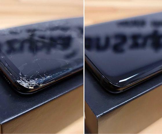 Naprawa Wymiana szybki w Samsung S21 S20 S10 S9 S8 S7 NAWET DO 24H!