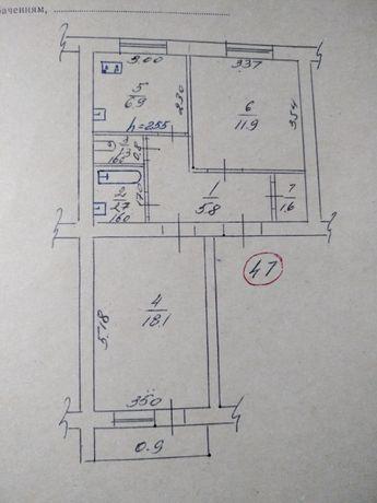 Продам 2-х комнатную квартиру в Гоголево, Полтавская область