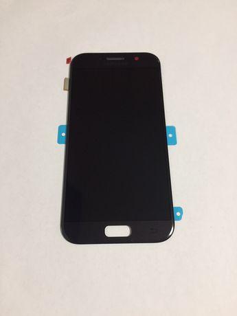 Дисплейный модуль для Samsung A520F Galaxy A5 2017 черный (GH97-19733A