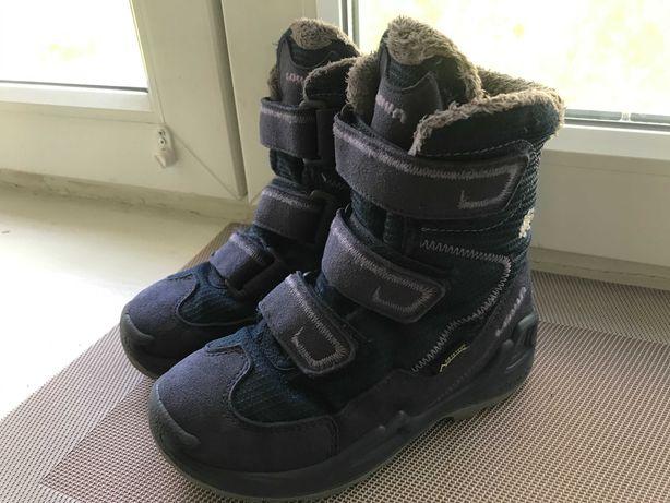 Топовые зимние ботинки lowa milo gtx hi р.29