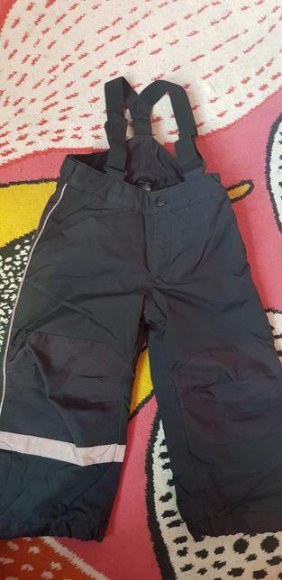 H&M spodnie narciarskie r.98