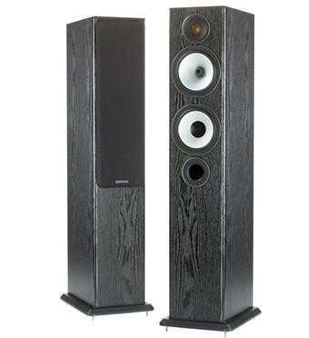 Colunas Monitor Audio BX5 e BXC