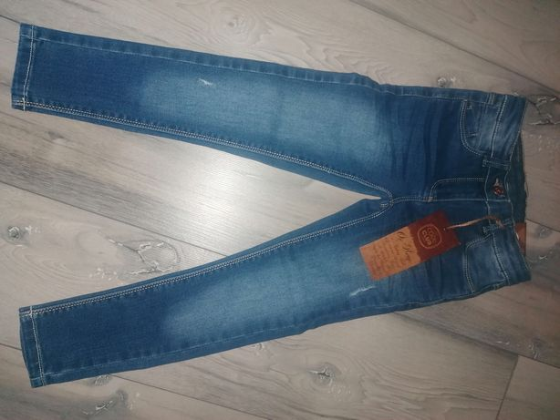 Nowe spodnie Smyk 122